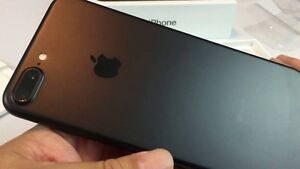 Unlocked Matte Black IPhone 7 Plus 256 Gig