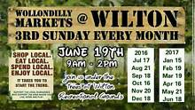 Wollondilly Markets at Wilton - 19th June, 2016 Wilton Wollondilly Area Preview