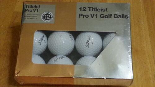 Titleist Pro V1 Mint Refinished Official Golf Balls,12-Pack GBBFTITPVR
