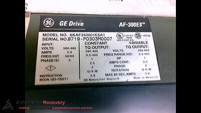 Ge Fuji Electric 6kaf343001ea1 Ac Invertor Drive Af-300e 480v 190895