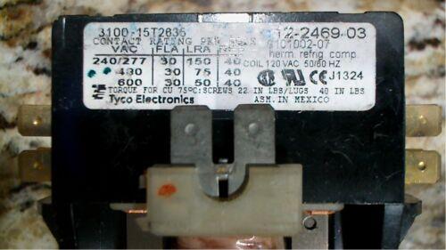 TYCO ELECTRONICS 12-2469-02 SINGLE POLE CONTACTOR & CONTACT - FREE SHIPPING