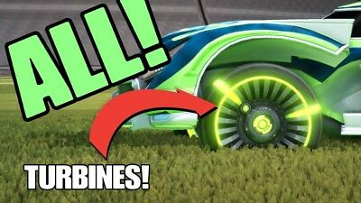 (PC) ALL PAINTED TURBINE WHEELS ROCKET LEAGUE (Steam) - CHEAPEST/FASTEST (Cheapest Paint)