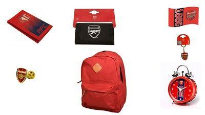 Arsenal Football Club Official Merchandise Wallet Keyring Bootbag Gymbag Sign