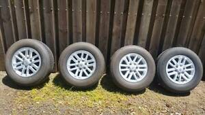 Toyota Hilux SR5******2015 Genuine Alloy wheels/rims with tyres Silvan Yarra Ranges Preview