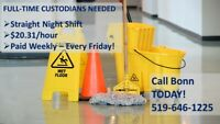 Cleaning and Housekeeping positions- $19.59 /hour!!