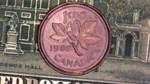 1989 CANADA SMALL CENT