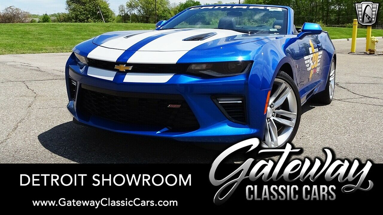 Hyper Blue Metalic 2016 Chevrolet Camaro  6.2 Liter V8 Automatic Available Now!