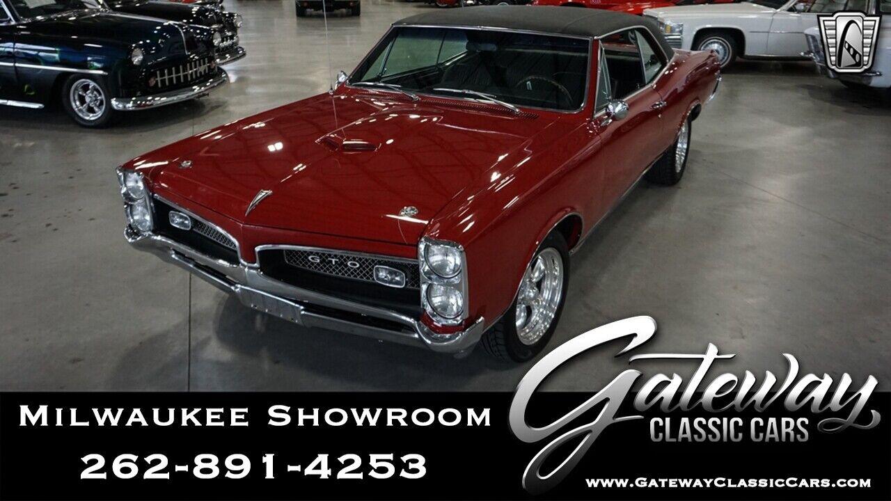 1967 Pontiac GTO  Red 1967 Pontiac GTO Sedan 540CID Big Block V8 TH400 3 Speed Automatic Available