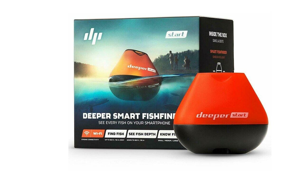 Deeper Start Smart Fish Finder - Castable Wi-Fi Fish Finder