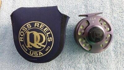 ROSS CLA-4 Classic & Scarce Fly Reel with Line & Ross Case