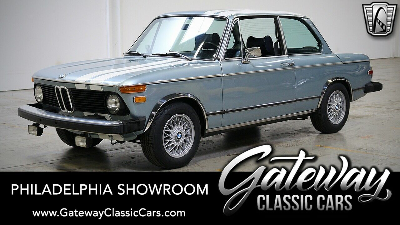 1976 BMW 2002  Blue 1976 BMW 2002  2.0 Liter Inline 4 4 Speed Manual Available Now!