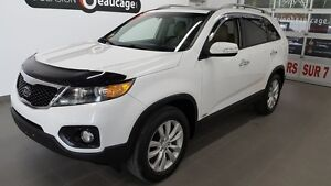 2011 Kia Sorento EX luxe, AWD 7 places, navigation, cuir