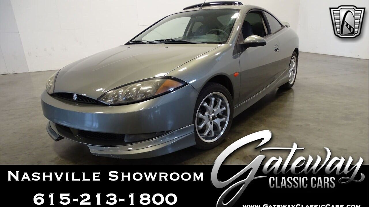 Grey 2000 Mercury Cougar Coupe 2.5L V6 F DOHC 24V 5 Speed Manual Available Now!