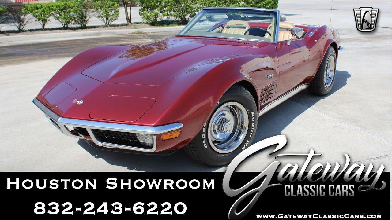 1971 Maroon Chevrolet Corvette   | C3 Corvette Photo 1