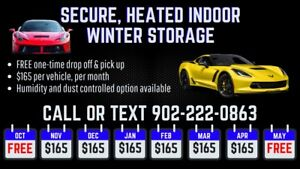 Winter Storage *Limited Space Available*