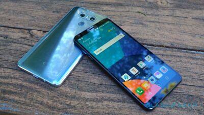 "New in Sealed Box LG G6 VS988 VERIZON 5.7"" Unlocked Smartphone/Ice platinum/32GB"