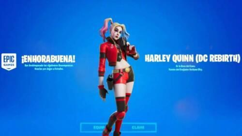 Fortnite Rebirth Harley Quinn Skin Code :: Batman Zero Point