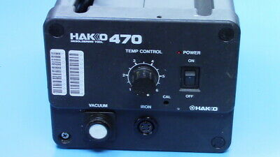 Hakko 470 Desoldering Station