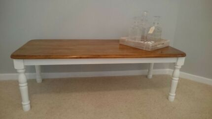 Natural Timber Coffee table with Stunning Satin finish.