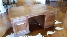 OLD WOODEN DESK Dianella Stirling Area Preview