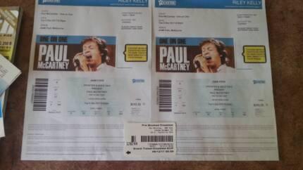 Paul McCartney tickets x 2