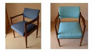 Mid-century Australian chairs, scandinavian 60s style (2) Northbridge Willoughby Area Preview