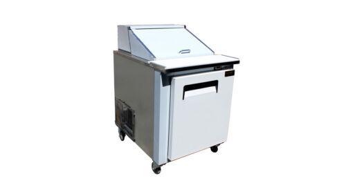 "Cooltech 1 Door Refrigerated Sandwich Prep Unit 27"""
