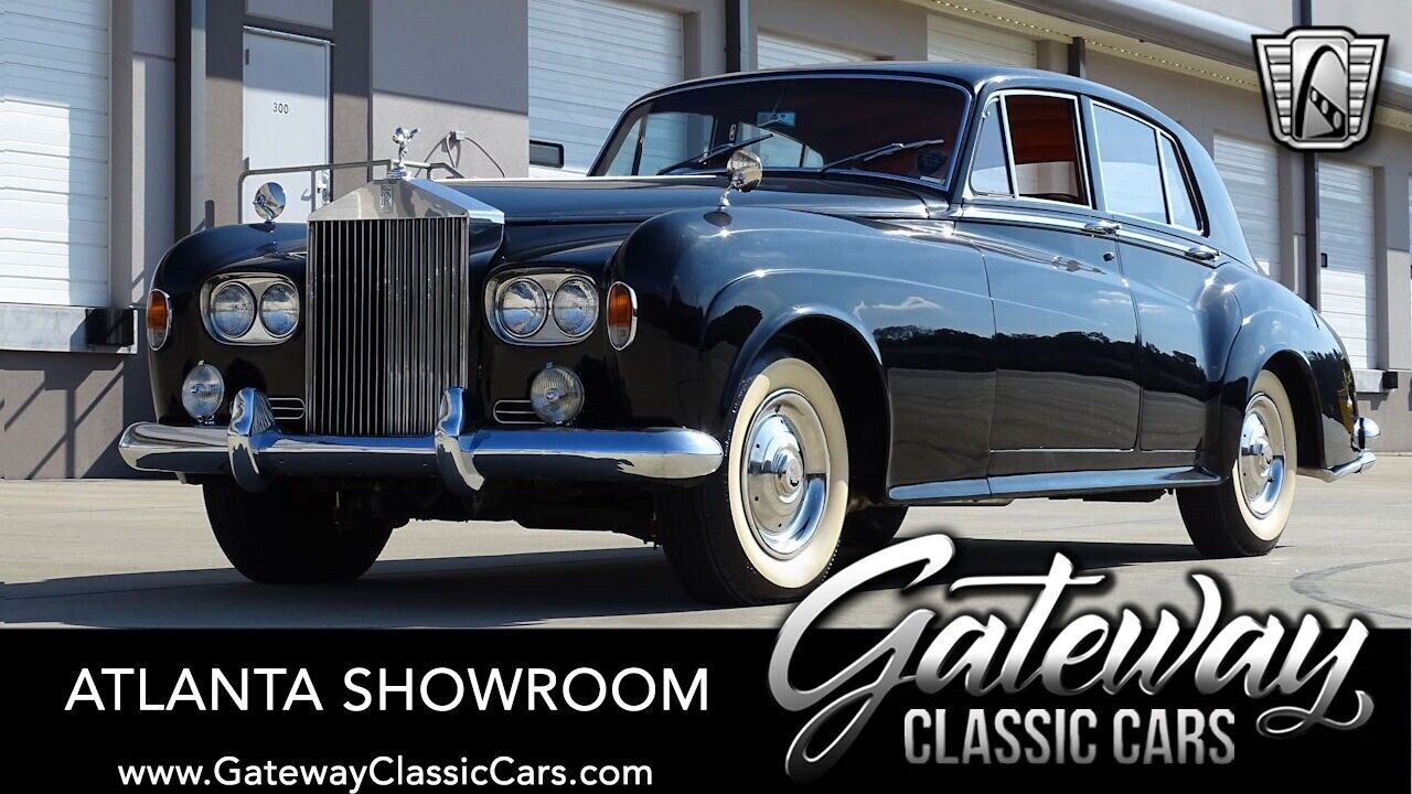 Black 1963 Rolls Royce Silver Cloud  6.2 Liter V8 3 Speed Automatic Available No