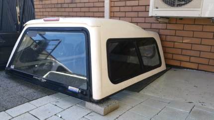 Duel cab canopy