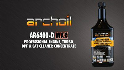 Archoil AR6400-D MAX Professional Diesel Engine,Turbo DPF Cat Cleaner, Spill Pad