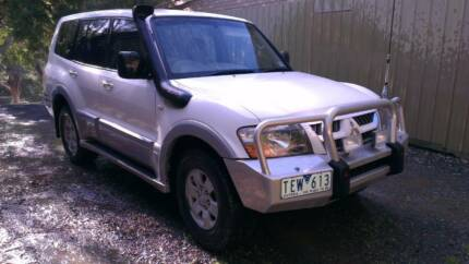 2004 Mitsubishi Pajero Wagon ( NEW PRICE ) Launching Place Yarra Ranges Preview