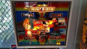 NIGHT RIDER Pinball Machine (RESTORATION) Mackenzie Brisbane South East Preview