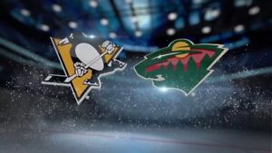 Selling 2 Pittsburgh Penguins vs. Minnesota Wild Tickets!!