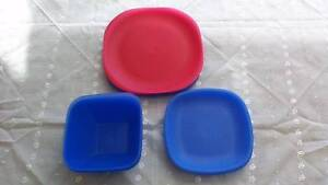 set of 12 melamix acrylic plates and bowls. Wellington Point Redland Area Preview