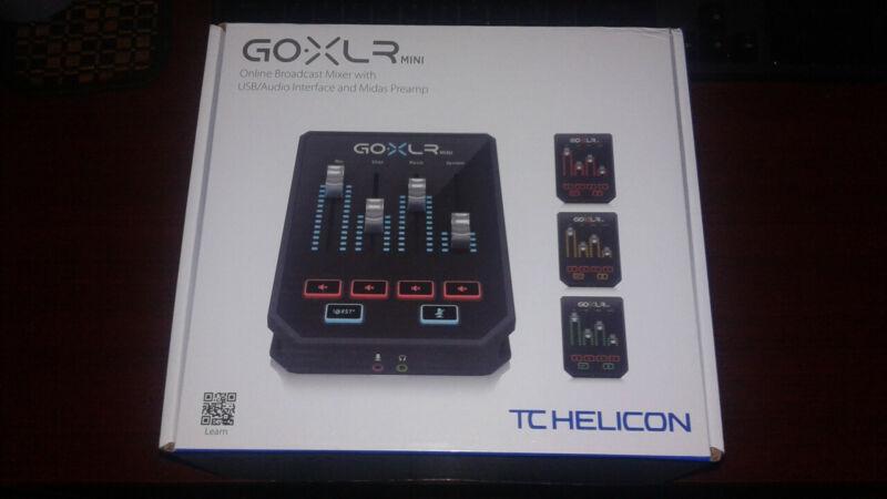*NEW* TC-Helicon GoXLR Mini Ready To Ship! Go XLR Mini.