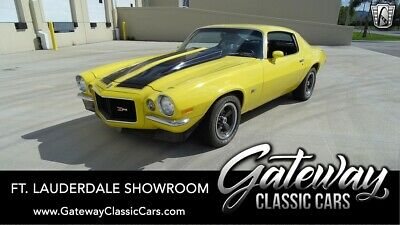1970 Chevrolet Camaro  Yellow/Black 1970 Chevrolet Camaro  350 CID V8 3 Speed Automatic Available Now!