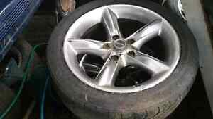 Chevrolet rims n low profile tyres17s Parramatta Parramatta Area Preview