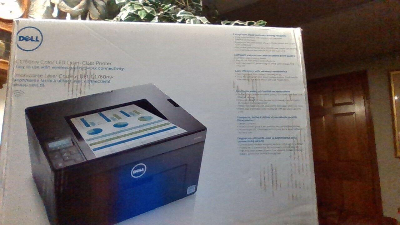 wireless laser printer new sharp crisp color