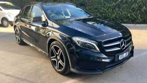 2015 Mercedes-Benz GLA-Class X156 805+055MY GLA250 DCT 4MATIC Black 7 Speed