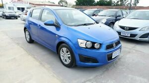 2013 Holden Barina TM MY13 CD Blue 6 Speed Automatic Hatchback St James Victoria Park Area Preview