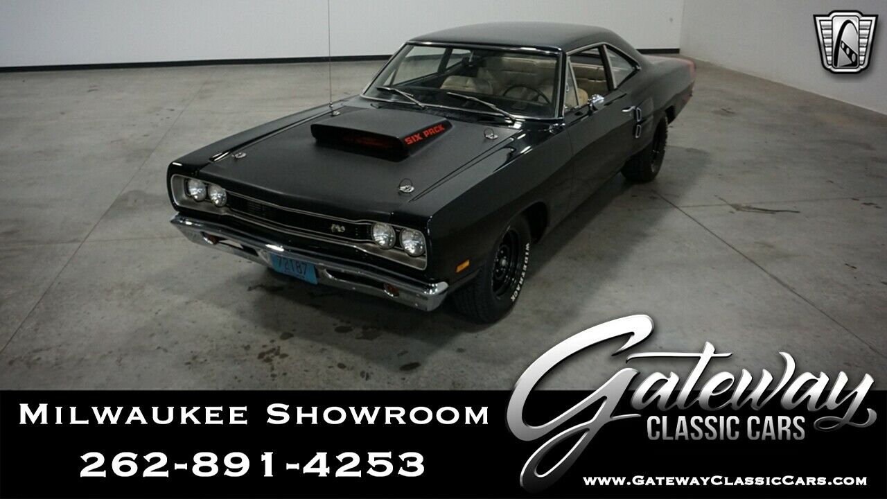 1969 Dodge Coronet  Black 1969 Dodge Coronet Sedan V8 383RB 3 Speed Automatic Available Now!