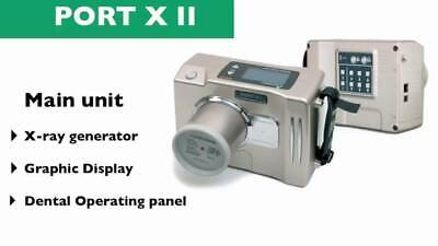Genoray Port-x Ii Portable X-ray Machine Ezx-60 Compact Wireless Dc X-ray