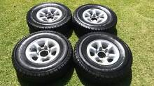 Goodyear Wrangler 31 x 10.5 x 15 on 6 stud mags East Cannington Canning Area Preview