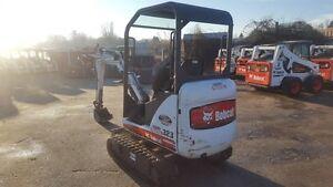 2009 bobcat mini excavator 323