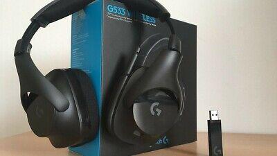Logitech G533 Wireless DTS 7.1 Surround Gaming Headset - (981-000632) brand new