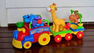 Fisher Price Amazing Animals Sing & Go Choo Choo Train Enoggera Brisbane North West Preview