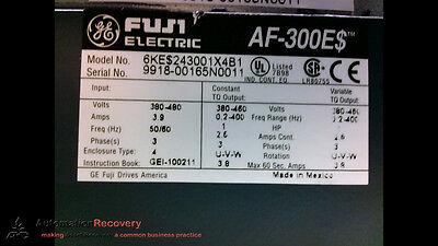 Ge Fuji Electric 6ke243001x4b1 Ac Invertor Drive Af-300e 480v 188396