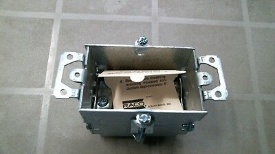 Raco 00523 Electrical Switch Box 3x2 12
