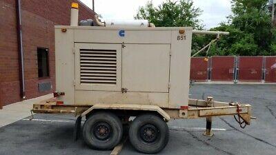 Cummins Towable 30kw Diesel Generator 120240 3 Phase 6k Obo