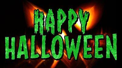 Halloween Decoration Spooky Scary Cat Pumpkin Ghosts Skeleton Fridge Magnet #5 - Scary Cat Halloween Pumpkin
